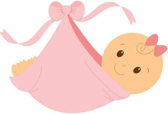 Baby girl christening clipart. Clip art free download