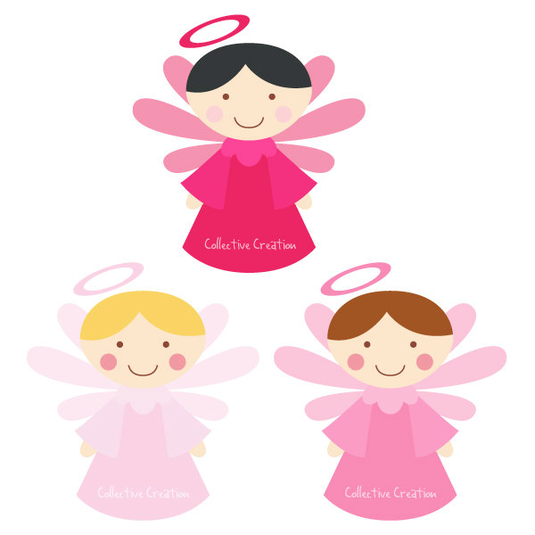 Clip art free download. Baby girl christening clipart