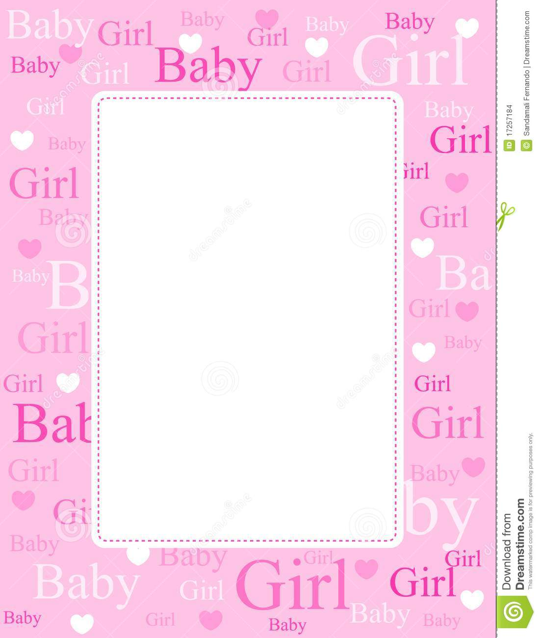 Baby girl clipart border jpg royalty free library Baby Girl Borders Clipart - Clipart Kid jpg royalty free library