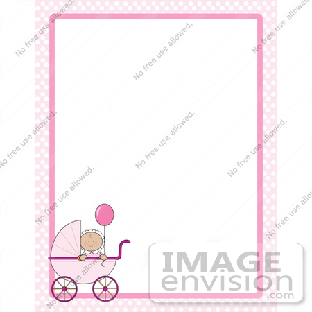 Baby girl clipart border clip Baby Girl Borders Clipart - Clipart Kid clip