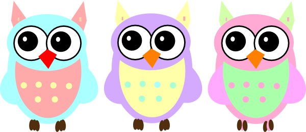 Baby girl clipart cimple. Animal owl simple clipartfest