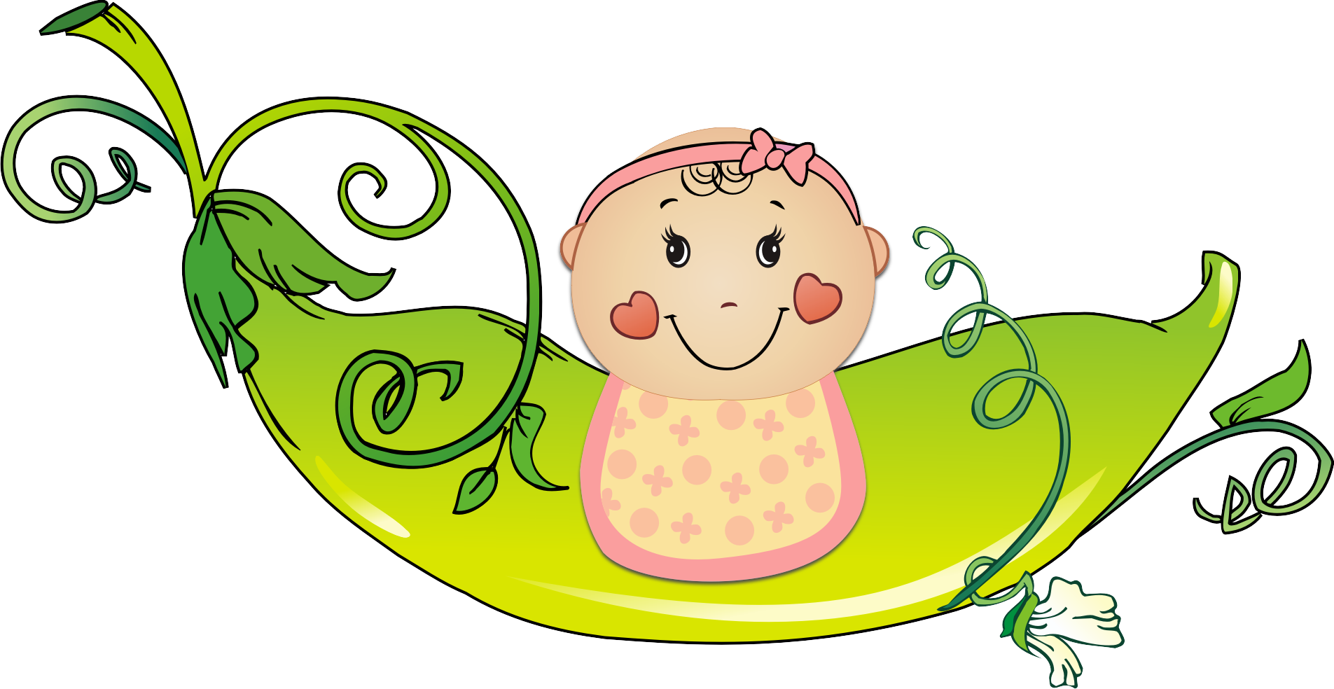 Simple free download clipartfox. Baby girl clipart cimple