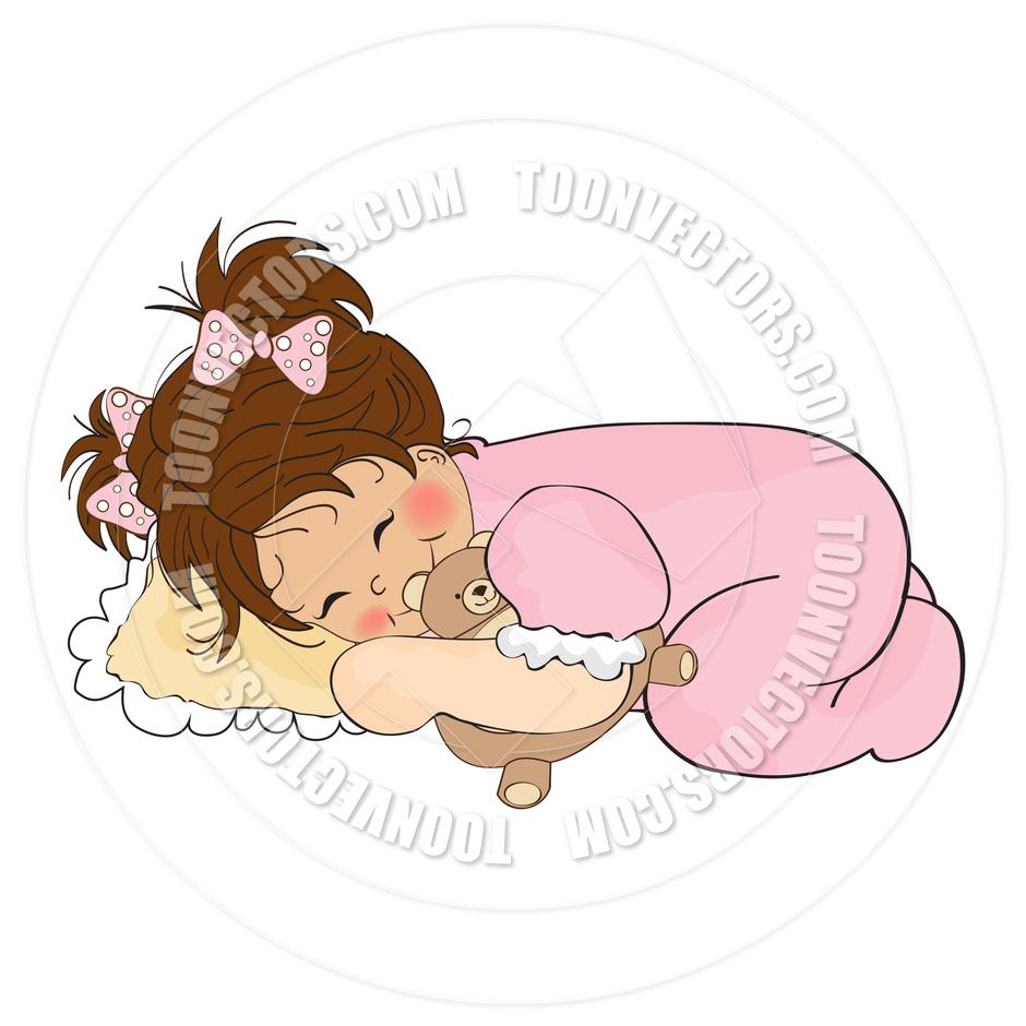 Baby girl clipart sleeping clipart Baby girl sleeping clipart - ClipartFest clipart