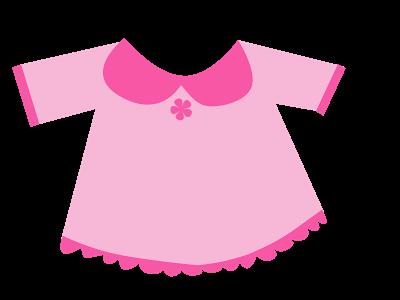 Baby girl clothes clipart clip art royalty free library Pink Baby Clothes Clipart - Clipart Kid clip art royalty free library