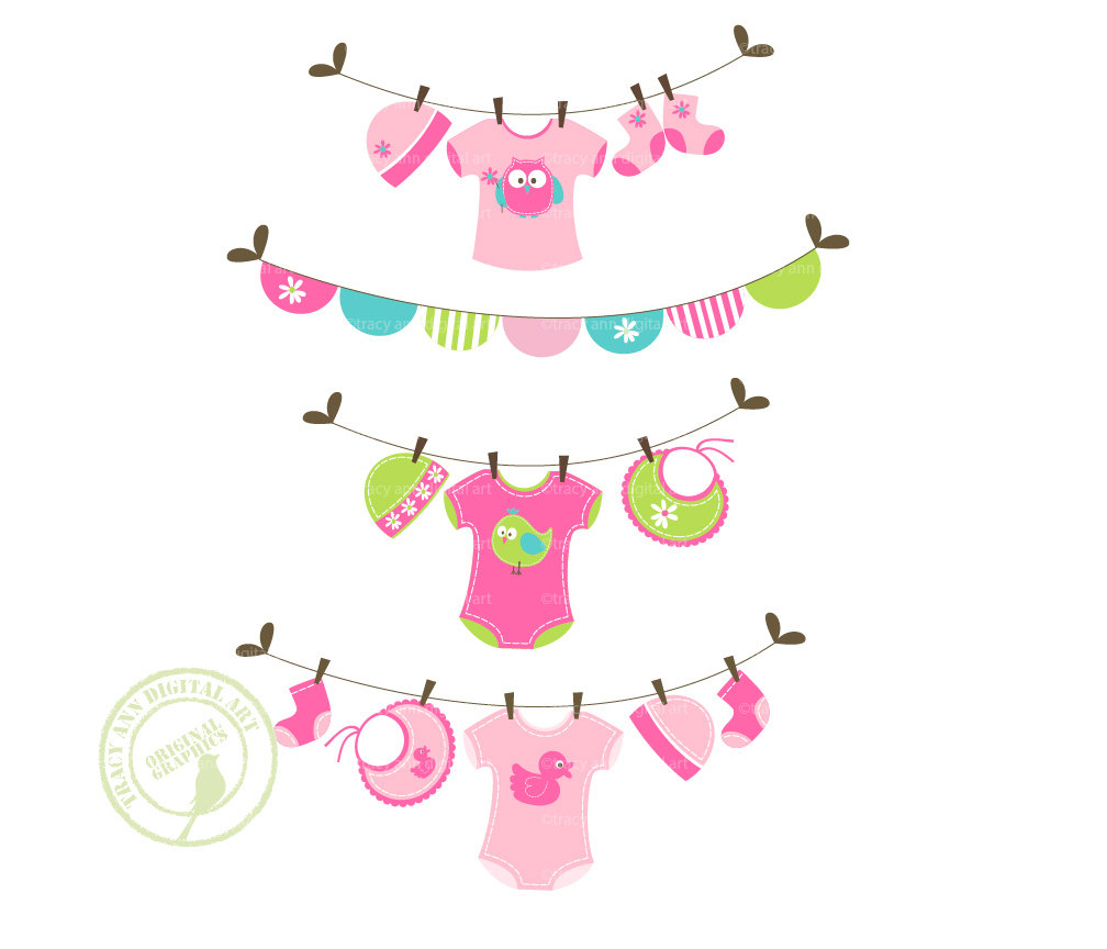 Baby girl clothes clipart freeuse library Baby girl clothes clipart - ClipartFest freeuse library