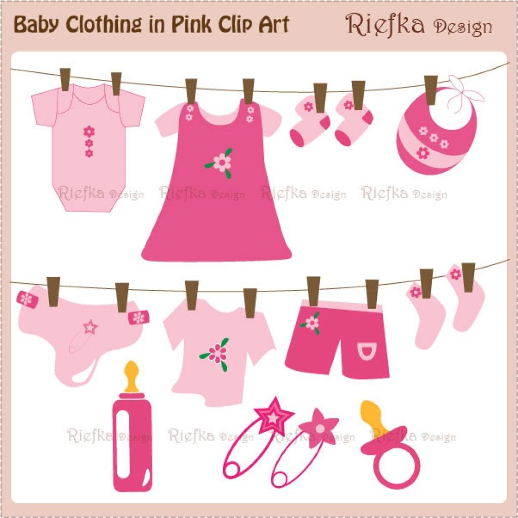 Baby girl clothes clipart vector freeuse ba girl clothes clipart i2 regarding baby girl clothes clipart ... vector freeuse