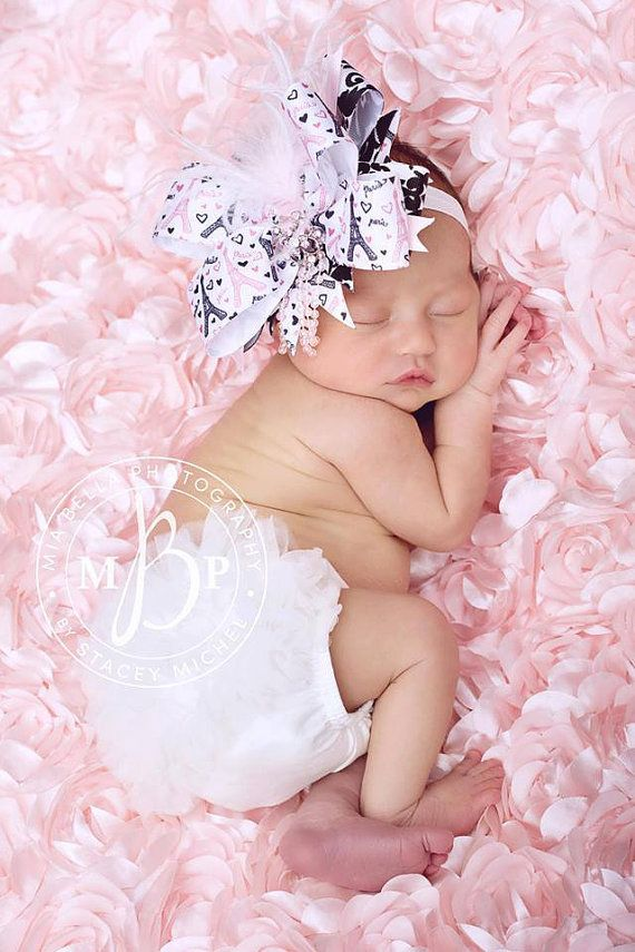 Baby girl head with big bow clipart.  best ideas about