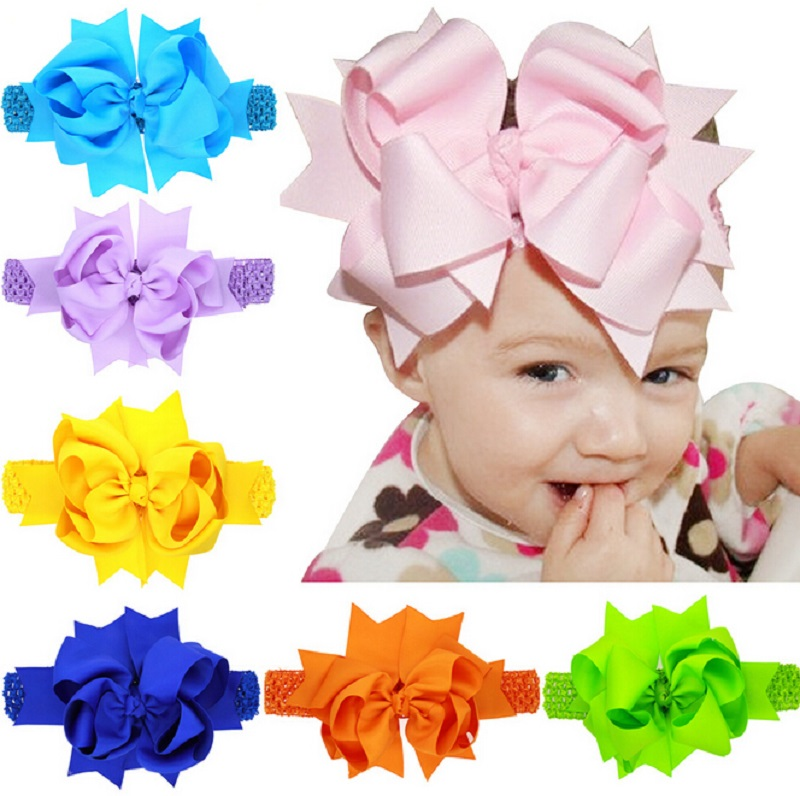 Baby girl head with big bow clipart graphic library Popular Oversized Bow Headband-Buy Cheap Oversized Bow Headband ... graphic library