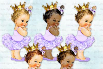 Baby girl in lavender tutu clipart jpg download Divine Digital Diva|66 Design Products|TheHungryJPEG.com jpg download