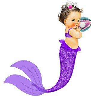 Baby girl mermaid clipart banner library stock Merbaby | Elissa\'s Baby Shower | Mermaid baby showers, Baby mermaid ... banner library stock