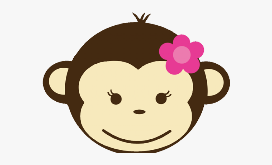 Baby girl monkey clipart vector library library Monkey Clipart Baby Girl - Girl Monkey Clipart #2132750 - Free ... vector library library