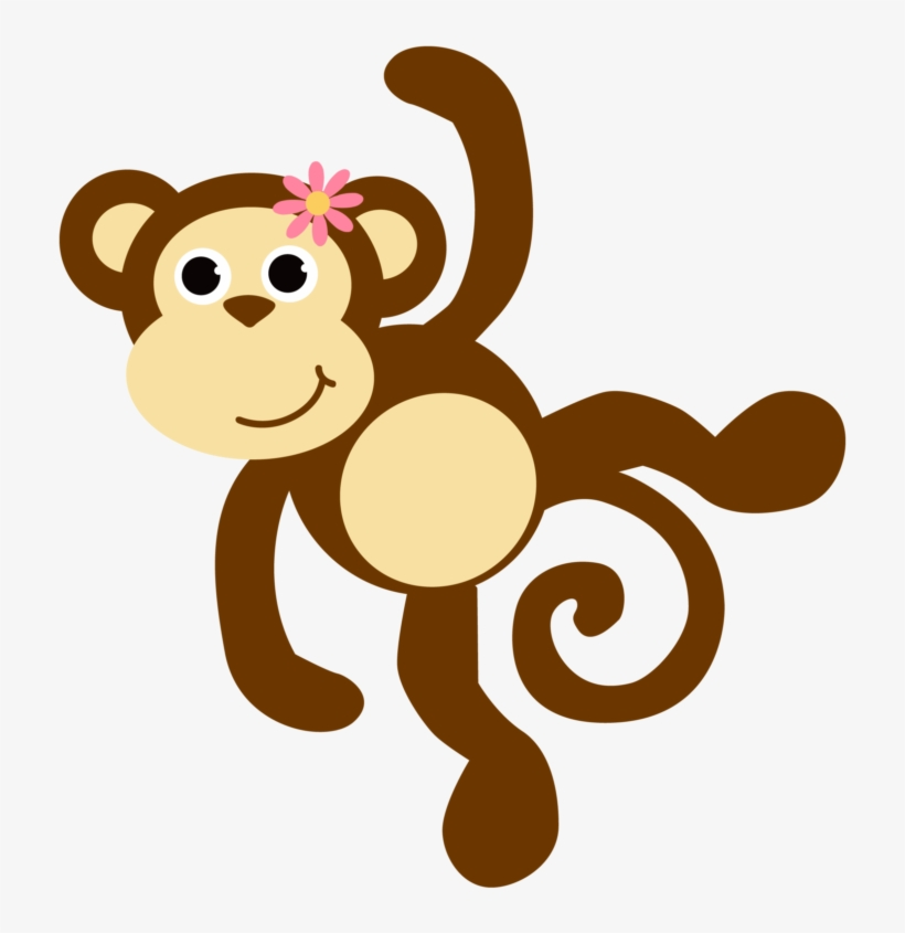 Baby girl monkey clipart svg royalty free Free Images Download 2018 Monkey Clipart No Background - Baby Girl ... svg royalty free