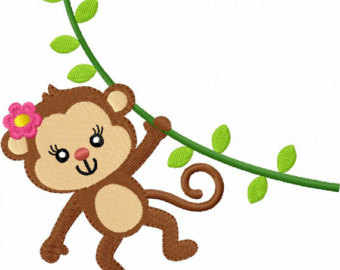 Baby girl monkey clipart clip transparent stock Girl monkey clip art library – Gclipart.com clip transparent stock