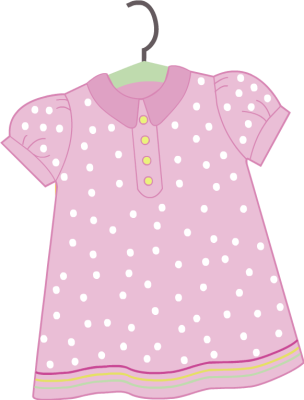 Baby garments clipart vector black and white download Free Cliparts Girl Clothes, Download Free Clip Art, Free Clip Art on ... vector black and white download
