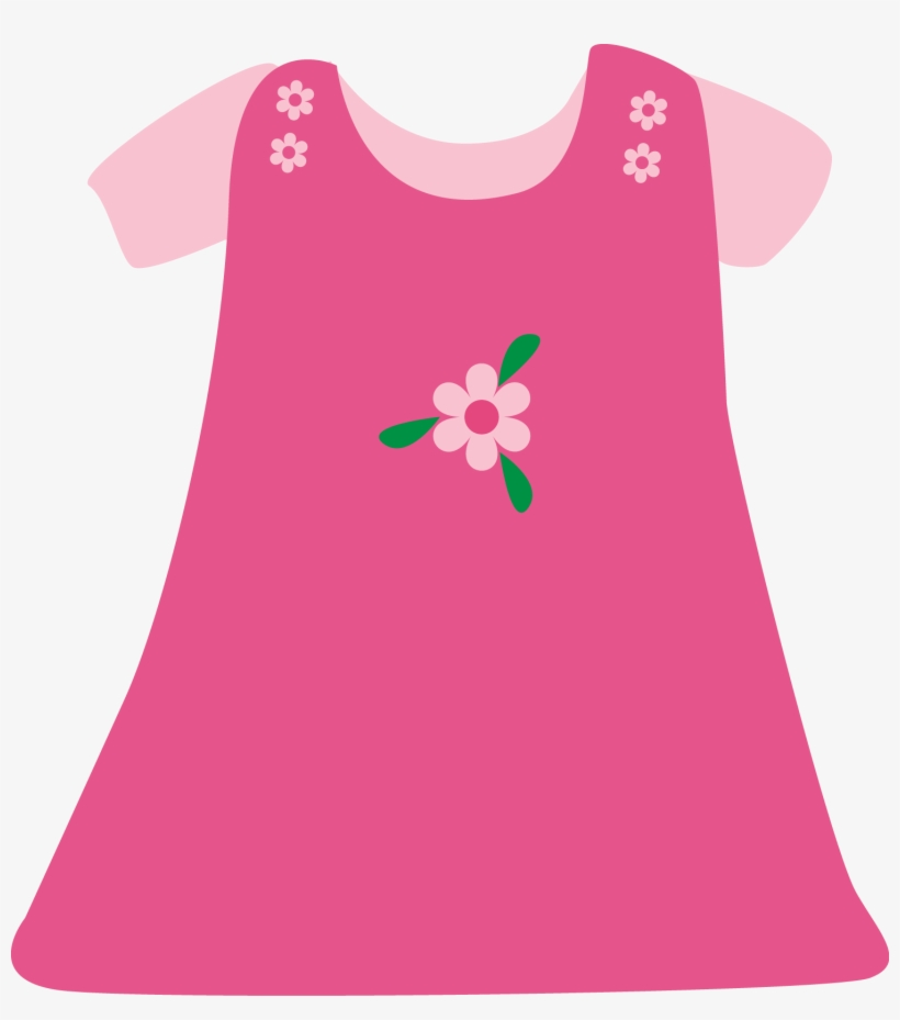 Download Free png Baby Girl Pink Dress Girl Dress Clip Art Free ... clip art transparent library