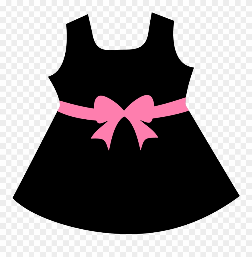 Girls dress clipart