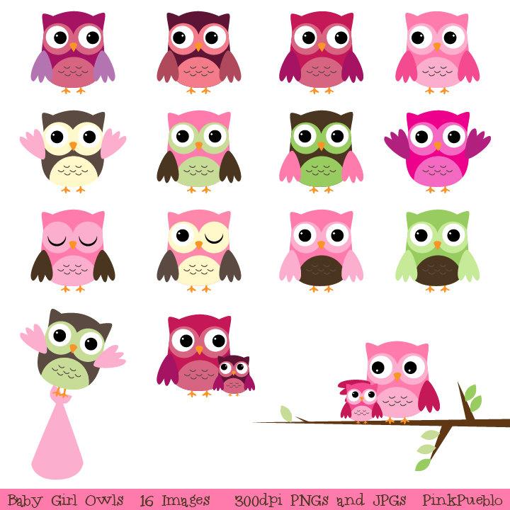 Baby girl owl clipart free stock Baby girl owl clipart - ClipartFest free stock
