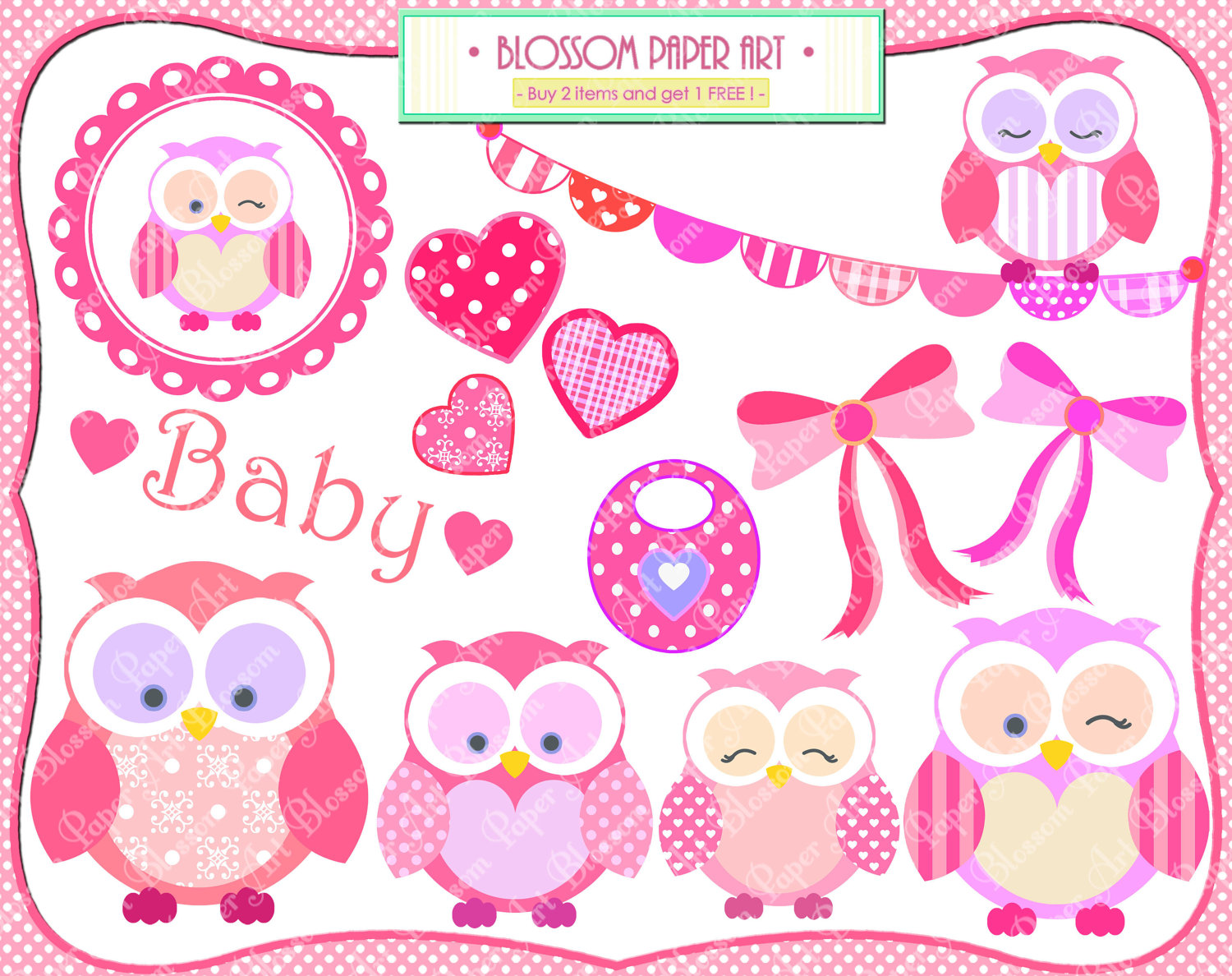 Baby girl owl clipart clip download Baby Girl Owl Clipart - Clipart Kid clip download