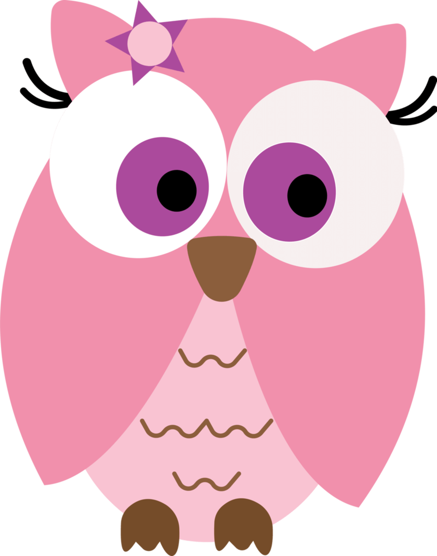 Cute valentine animal clipart png vector library download Pink baby owl clipart - ClipartFest vector library download