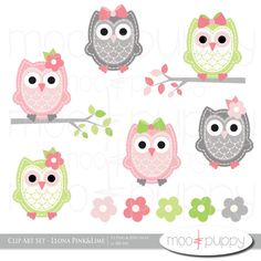 Baby girl owl clipart svg freeuse download Free baby girl owl clip art - ClipartFest svg freeuse download