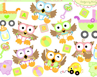 Baby girl owl clipart graphic black and white library Cute baby girl owl clipart - ClipartFox graphic black and white library