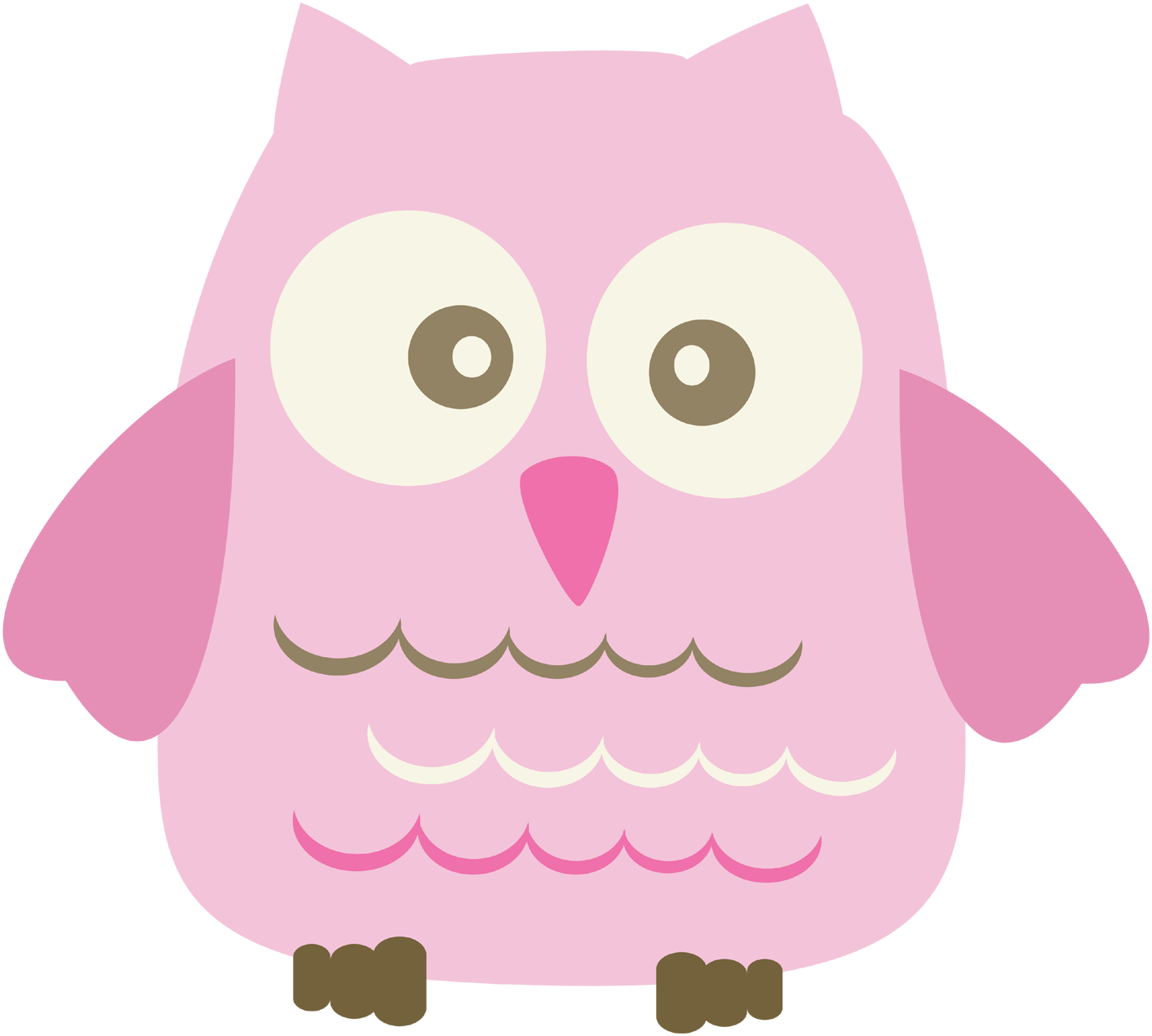 Baby girl pink clipart clip art freeuse Baby Girl Clip Art   think this little owl is just darling!   Kids ... clip art freeuse