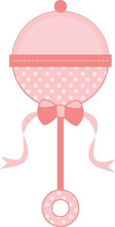 Baby girl pink clipart. Cute carriage free clip