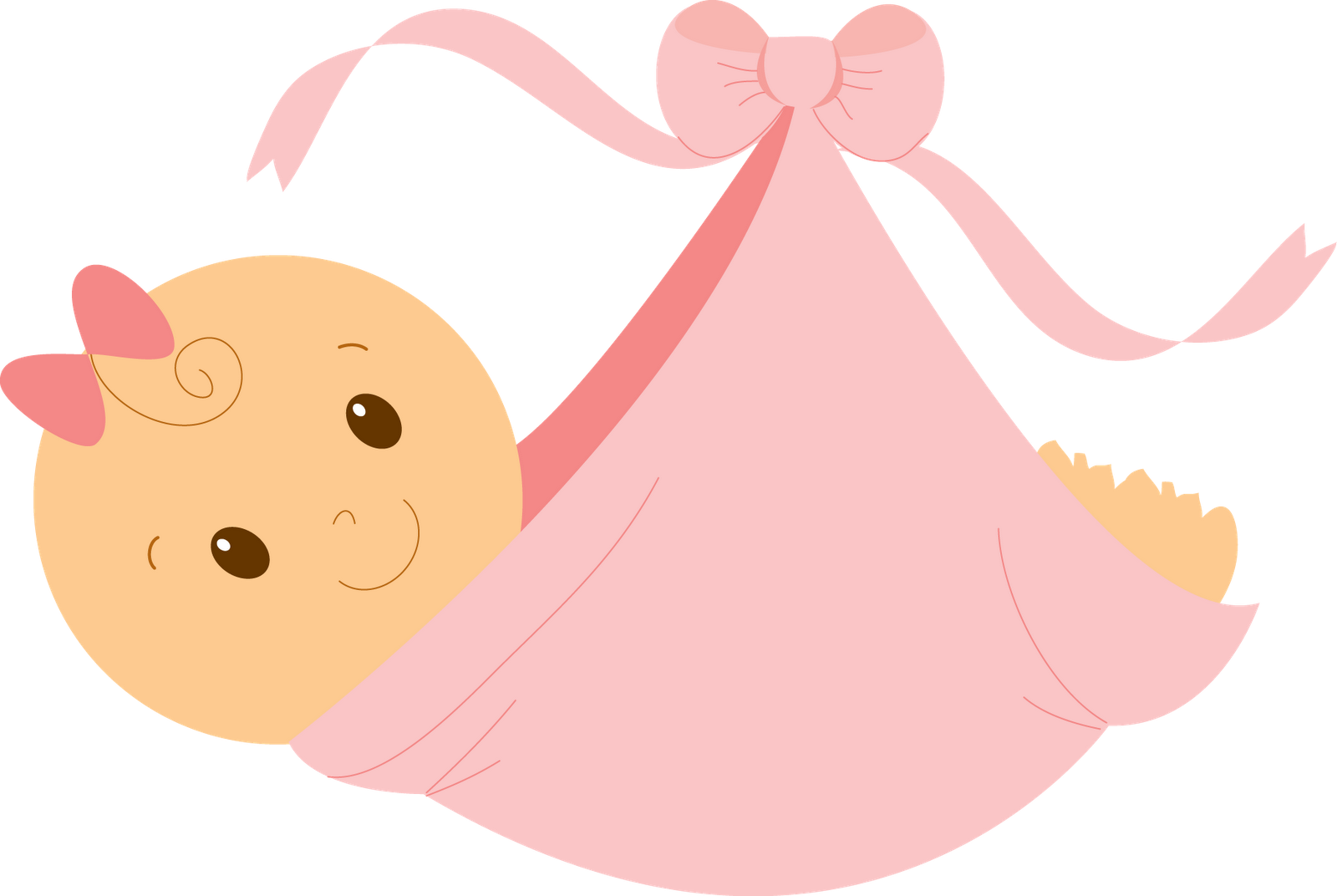 Baby girl pink clipart picture transparent stock Baby Girl Clip Art   Abra a imagem em outra aba p salvar em seu ... picture transparent stock