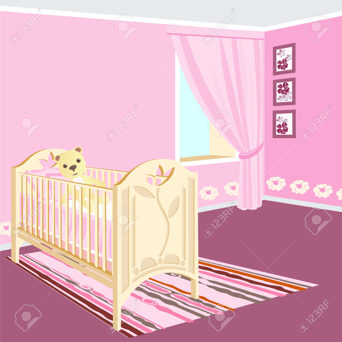 Baby girl room clipart png Baby girl room clipart - ClipartFest png