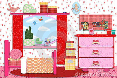 Baby girl room clipart svg freeuse library Baby girl room clipart - ClipartFest svg freeuse library