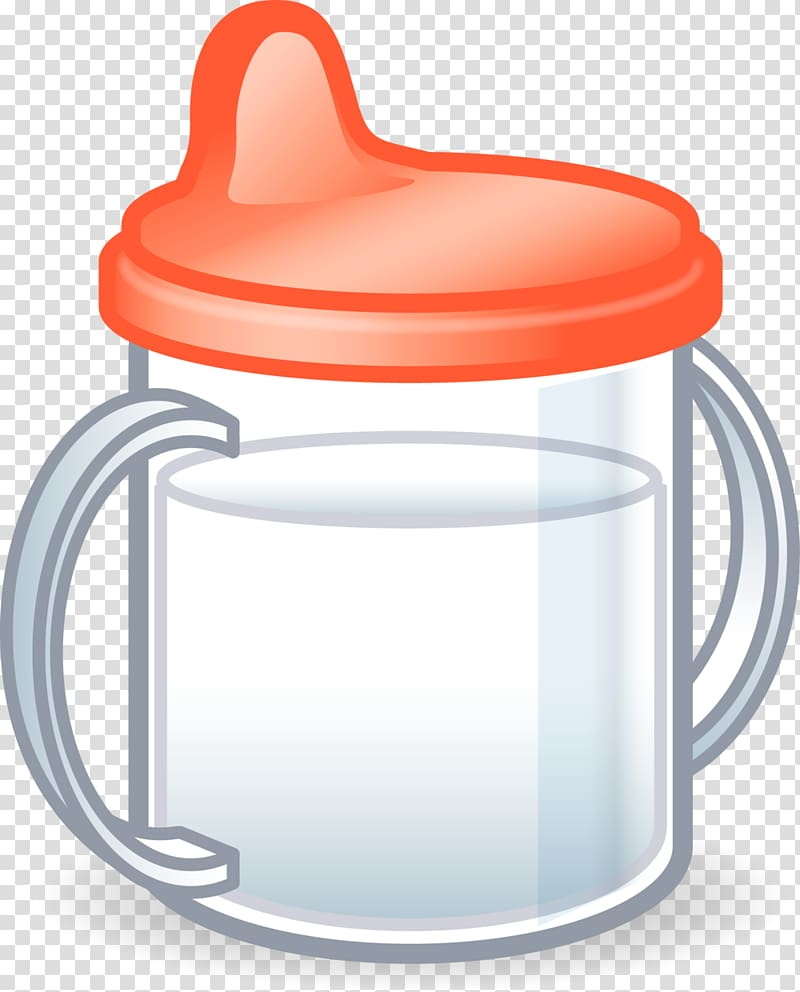 Baby girl sippy cup clipart svg black and white stock Sippy Cups Baby Bottles Infant Child , dentists transparent ... svg black and white stock