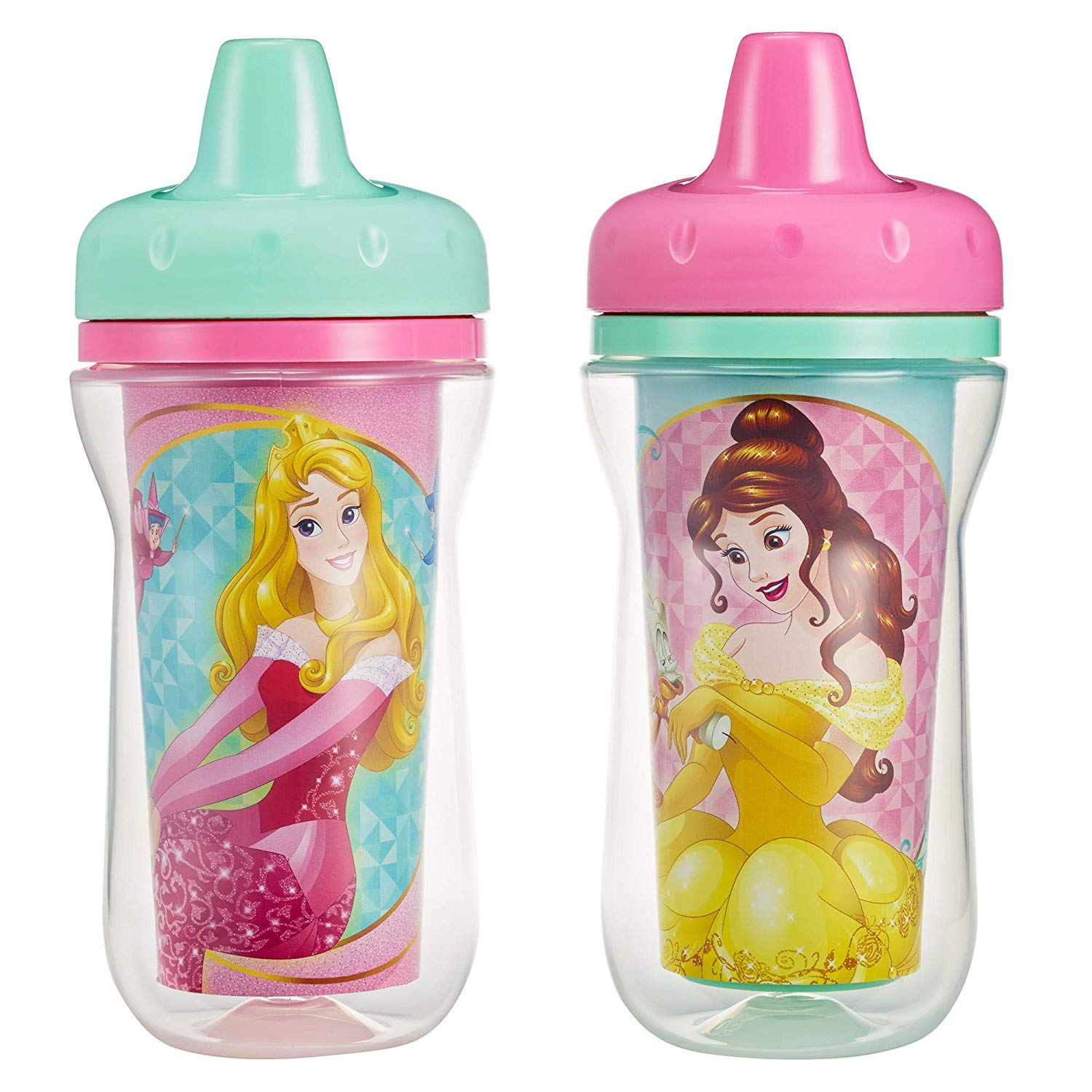 Baby girl sippy cup clipart png free library The First Years Insulated Sippy Cups, Disney Princess, 9 Ounce (Pack of 2) png free library
