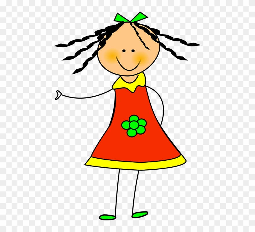 Girl free clipart