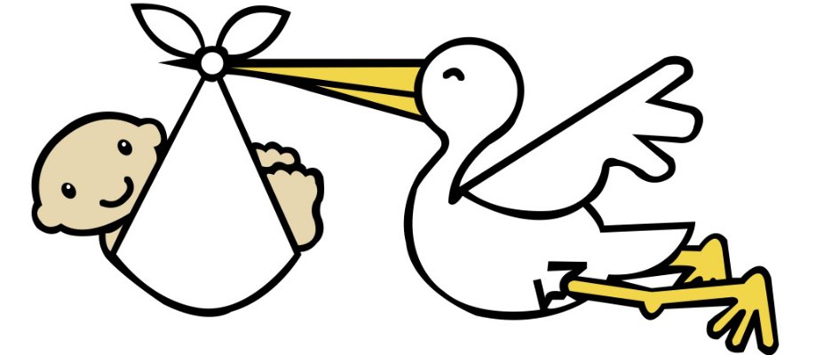 Free baby stork clipart - ClipartFest picture royalty free download