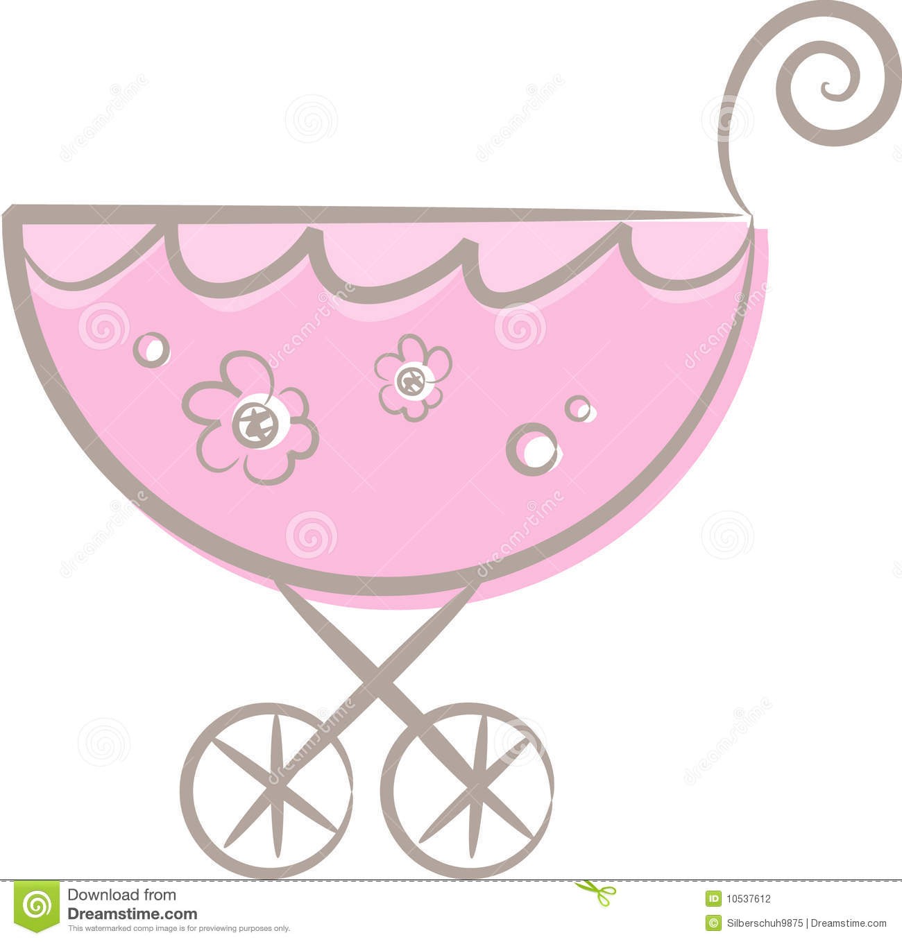 Baby girl stroler clipart graphic freeuse download Baby girl in stroller clipart - ClipartFest graphic freeuse download