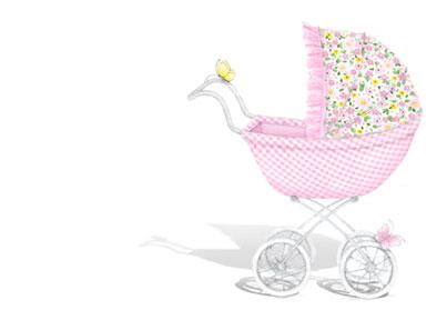 Baby girl stroler clipart svg transparent Baby girl in stroller clipart - ClipartFest svg transparent