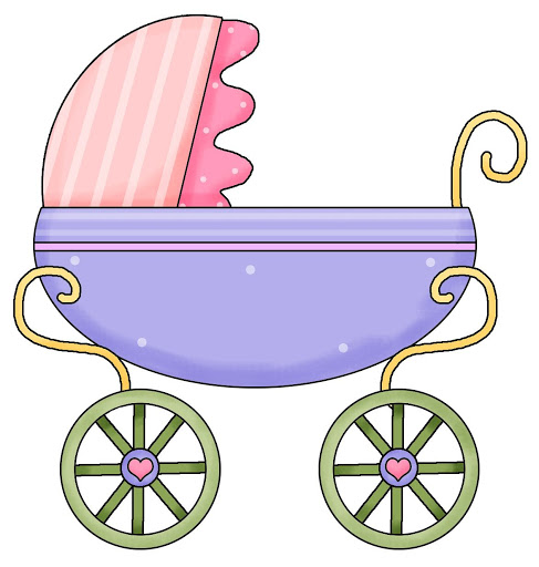 Baby girl stroler clipart clipart transparent library Baby stroller clipart - ClipartFest clipart transparent library