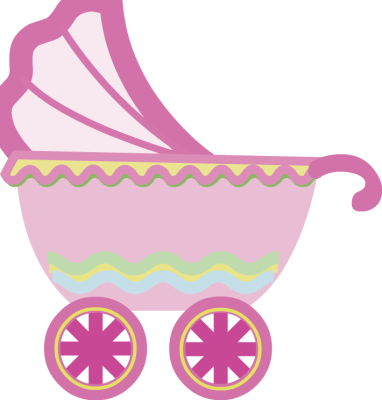 Baby girl stroler clipart png freeuse library Pink baby stroller clipart - ClipartFest png freeuse library