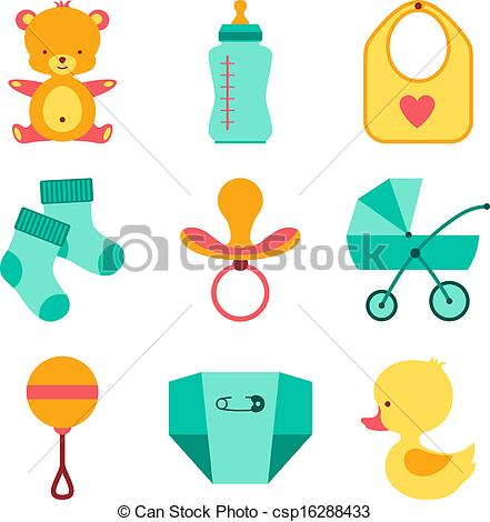 Baby girl supplies clipart banner freeuse stock Baby Stuff Clipart & Baby Stuff Clip Art Images - ClipartALL.com banner freeuse stock