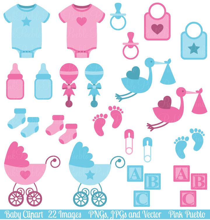 Baby girl supplies clipart vector transparent library Baby Items Clipart & Baby Items Clip Art Images - ClipartALL.com vector transparent library
