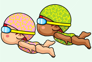 Baby girl swimming clipart svg library Free Girl Swimming Cliparts, Download Free Clip Art, Free Clip Art ... svg library