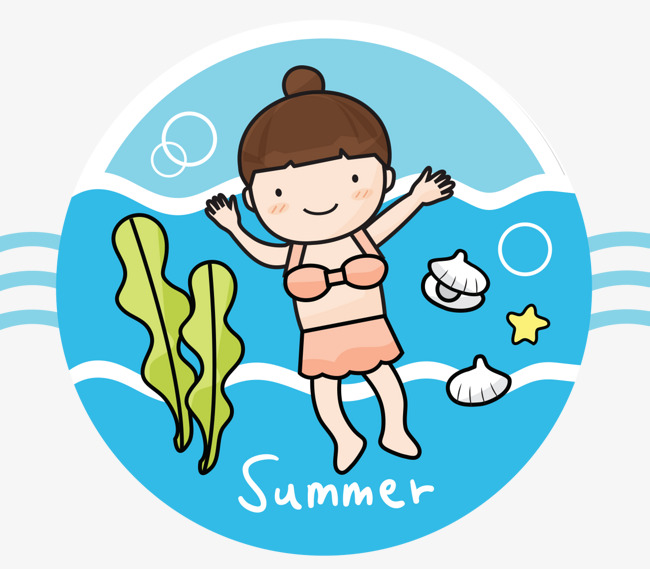 Baby girl swimming clipart clipart royalty free download Girl Swimming Clipart | Free download best Girl Swimming Clipart on ... clipart royalty free download
