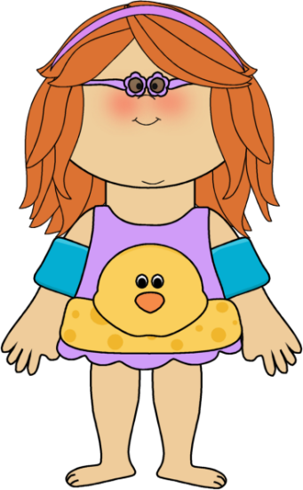 Baby girl swimming clipart image royalty free library Swimmer girl.   Clip Art-Summer   Clip art, Art girl, Art image royalty free library