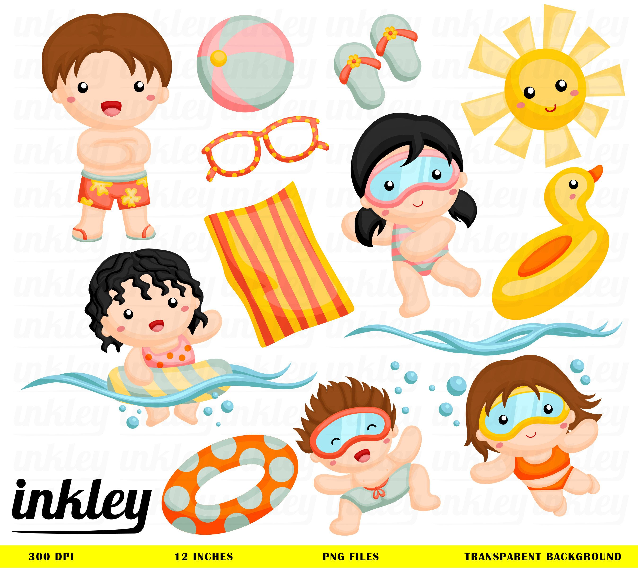 Baby girl swimming clipart vector transparent download Swim Clipart, Swim Clip Art, Swim Png, Summer Clipart, Dive Clipart ... vector transparent download