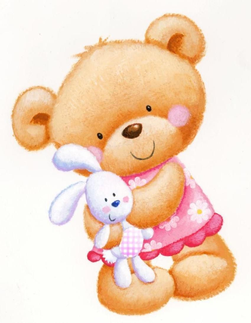 Baby girl teddy bear clipart clip art free stock Hannah Wood / cute girl bear | cross stitch | Bear drawing, Teddy ... clip art free stock