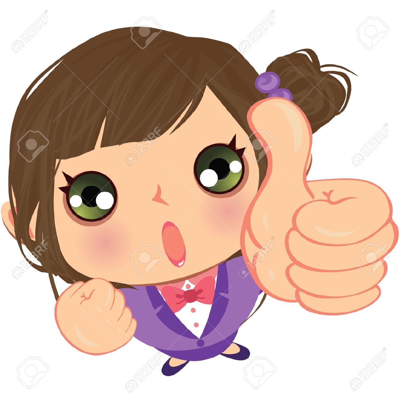 Baby girl thumbs up clipart. With clipartfest sign happy