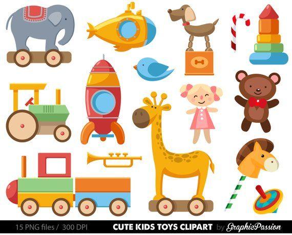 Girl toys clipart clip art black and white library Baby Toys Clipart Clip Art, Baby Clip art, Toy cars , kids toys ... clip art black and white library
