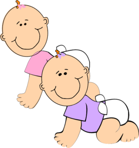 Baseball baby twins clipart picture royalty free stock Twin Baby Girl PNG Free Transparent Twin Baby Girl.PNG Images. | PlusPNG picture royalty free stock