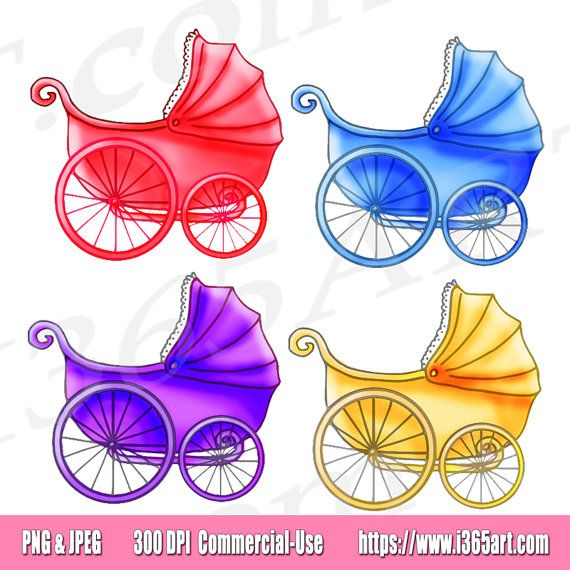 Baby girl vintage carriage clipart jpg transparent Baby Stroller Clipart, Baby Carriage Clip art, Baby Shower Clipart ... jpg transparent