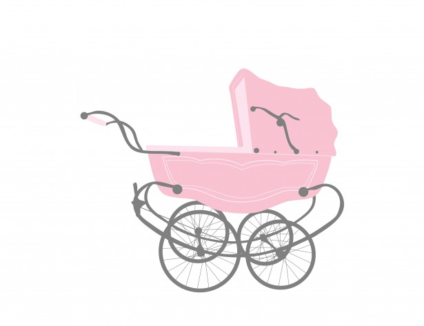 Baby girl vintage carriage clipart clipart library download Baby Girl Stroller Vintage Free Stock Photo - Public Domain Pictures clipart library download